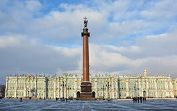 The famous Palace Square Royalty Free Stock Photos
