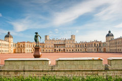 Famous palace in suburbs of St. Petersburg Stock Image