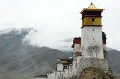 Famous palace in Tibet Stock Images
