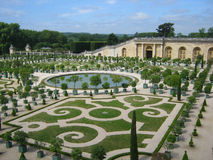 Famous palace Versailles near Paris Royalty Free Stock Photography