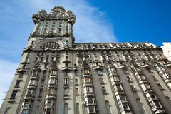 Palacio Salvo in Montevideo. The famous Palacio Salvo in Montevideo, Uruguay Royalty Free Stock Images
