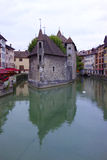 Famous Palais de l'Isle in Annecy, France Royalty Free Stock Image