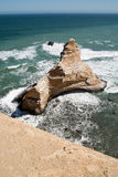 The famous Paracas Cathedral rock Royalty Free Stock Images
