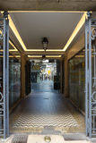 The famous parisian passage du Caire, France. Royalty Free Stock Photography