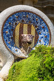 The famous park Guell in Barcelona, Spain Stock Photography