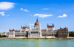 Famous parliament of Hungary Royalty Free Stock Images
