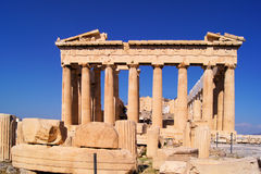 The famous Parthenon, Athens Royalty Free Stock Photo