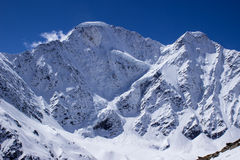 Famous peak Seven close-up under blue sky Royalty Free Stock Images
