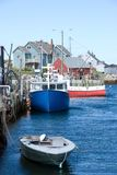 Famous Peggy's Cove Royalty Free Stock Photos