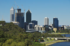 Famous Perth View Royalty Free Stock Photo
