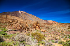 Famous Pico del Teide Royalty Free Stock Images