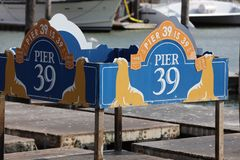 The famous Pier 39 at San Francisco Stock Photos