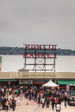 Famous Pike Place Public Market in Seattle Royalty Free Stock Photo