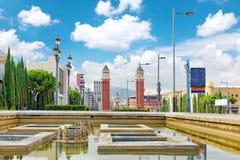Famous Placa de Espanya Στοκ εικόνες με δικαίωμα ελεύθερης χρήσης
