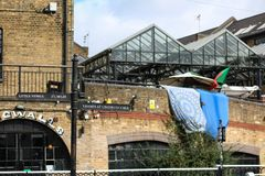 Camden town. Famous place in london Royalty Free Stock Image