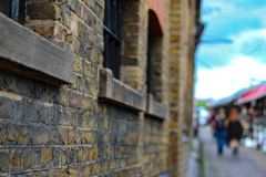 Camden town. Famous place in london Stock Images