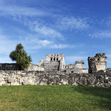 Famous place of Tulum Royalty Free Stock Photo