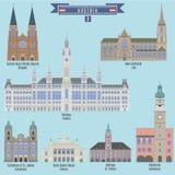 Famous Places in Austria Stock Photo