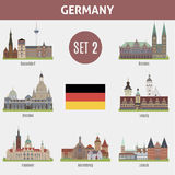 Famous Places cities in Germany Royalty Free Stock Image
