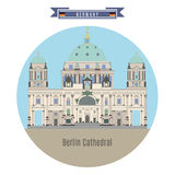 Famous Places in Germany: Berlin Cathedral Royalty Free Stock Images