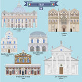 Famous Places in Italy Stock Images