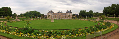 Famous places of Paris - Jardin du Luxembourg Royalty Free Stock Images