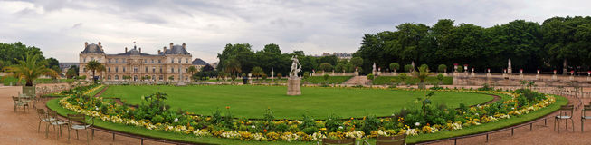 Famous places of Paris - Jardin du Luxembourg Royalty Free Stock Photos