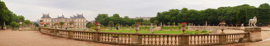 Famous places of Paris - Jardin du Luxembourg Royalty Free Stock Photography