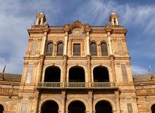 Famous Plaza de Espana Stock Image