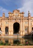 Famous Plaza de Espana Royalty Free Stock Photography