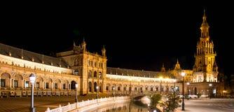 Famous Plaza de Espana, Sevilla, Spagna Immagini Stock