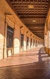Famous Plaza de Espana, Sevilla, Spain. Royalty Free Stock Photo