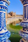 Famous Plaza de Espana, Sevilla, Spain Stock Photography