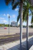 Famous Plaza de la Revolucion, Havana, Cuba. Stock Photography