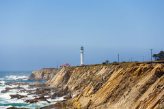 Famous Point Arena Lighthouse Stock Photography
