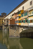 Famous Ponte Vecchio Bridge in Florence Royalty Free Stock Photography
