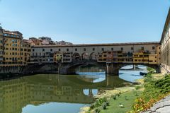 The famous Ponte Vecchio in Florence, Tuscany