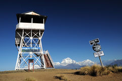 Famous Poon Hill view point, Nepal Stock Photos