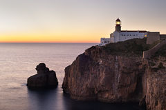 Famous Portugal lighthouse Royalty Free Stock Images