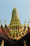 Famous Prangs in the Grand Palace Stock Photos