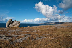 Famous protected burren park landscape Royalty Free Stock Photography