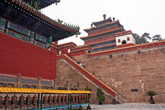 Famous Puning temple in Chengde, China Royalty Free Stock Photo