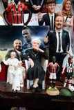Famous puppets by Naples Stock Images
