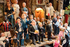 Famous puppets by Naples Stock Photos