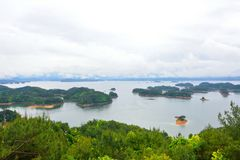 thousand-island (qiandao) lake Royalty Free Stock Photo