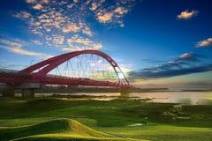 Famous rainbow bridge Royalty Free Stock Images