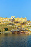 Famous Rajasthan landmark - Amber Stock Photography