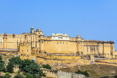 Famous Rajasthan landmark - Amber Royalty Free Stock Photo