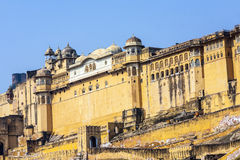 Famous Rajasthan landmark - Amer Royalty Free Stock Photography