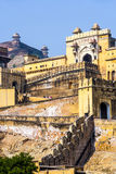 Famous Rajasthan landmark - Amer Royalty Free Stock Photos